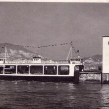 Old vehicular ferries and piers in Hong Kong