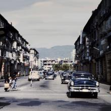 1958 Junction of Fenwick Street and Hennessy Road