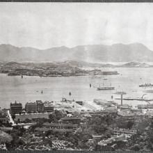 View of Hong Kong harbour, ca. 1907