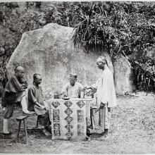 Hotz collection: Fortune Telling, ca. 1870
