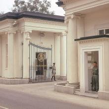 1970 Gates at Government House