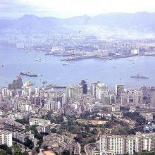 1970 view from The Peak