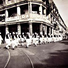 1930s Sikh Funeral Procession