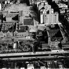 1963-Aerial View of Maryknoll Convent School, Hong Kong