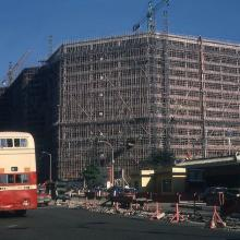 1978 Construction of New World Centre