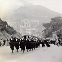 1930s Gap Road Funeral Procession