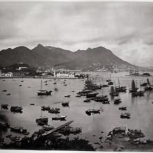 Hotz collection: Hong Kong, Victoria Hills and Causeway Bay, ca. 1870