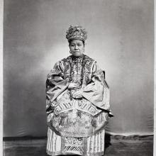 Hotz collection: Mandarin's Wife, by Lai Fong, ca. 1870