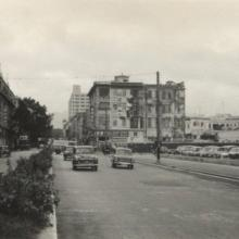 1956 View north up Nathan Road