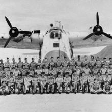 1950s Short Sunderland Flying Boat at RAF Kai Tak