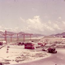 1960 Kai Tak Airport - Kowloon City Roundabout