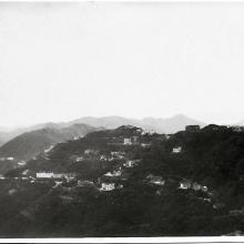 Looking east from the Peak 1931