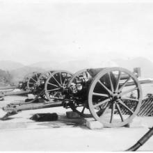 18-pounders of Signal Hill Battery