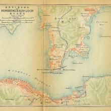 1915 Hong Kong Map