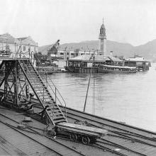 1920s Kowloon Star Ferry from Kowloon Wharf