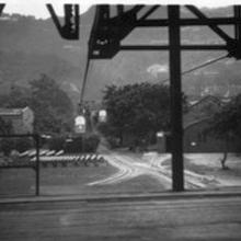 1930s Cable Car over Queensway