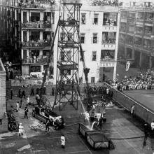 1935 Annual Fire Drill Display