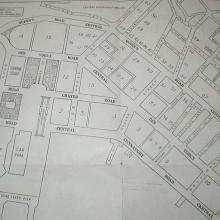 1959 BOAC Street Map of Central