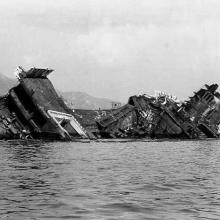 1970s Wreck of RMS Queen Elizabeth