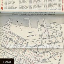 1960s Map of Central