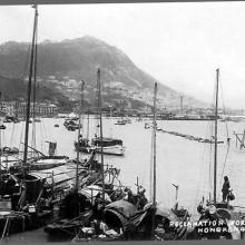 1920s Harbour Reclamation off Wanchai