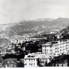City from Robinson Road c.1946