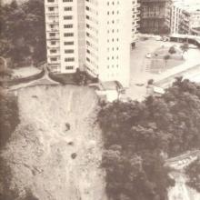 Chater Hall Landslide