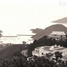 Chief Justice's House (Lysholt) 18 Gough Hill Road The Peak Hong Kong circa 1971