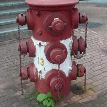 Old Fire Hydrant - Junction of Boundary St and Embankment Rd