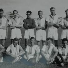 Royal Signals 24 Troop Football Team - 1954