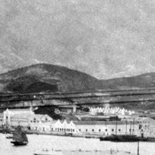 Kowloon wharves & Whitfield Barracks