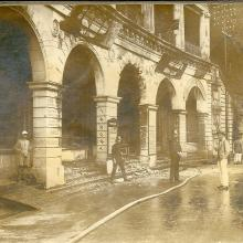 1918 After fire at Beaconsfield Arcade