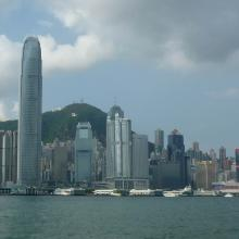 2012 View of Central & Sheung Wan from across the harbour