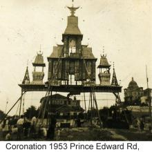 Coronation 1953 Junction Prince Edward Rd, Boundary St