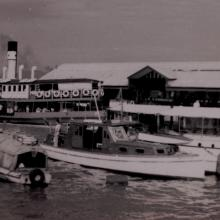 Star Ferry & water taxis - Central 1953