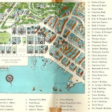 Hong Kong map 1957