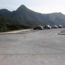 End of Clearwater Bay Road