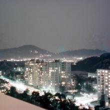 Night View towards Kaitak