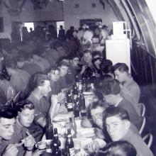 Christmas dinner-Sek Kong 25 Dec.1957