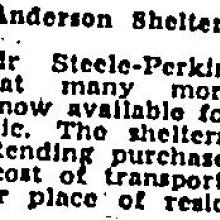 1941 Anderson Shelter