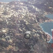 Mystery Rock, Aerial view