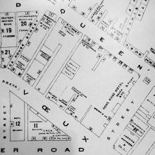 1911 Map of Central
