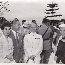 Mr and Mrs Ron Brooks at Government House event c1950s