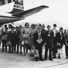 BOAC arrival students