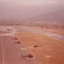 1980s RAF Sek Kong Helicopter Dispersal Area