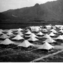 British Army Camp at Sek Kong 1950