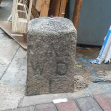 War Department Boundary Stone - Signal Hill