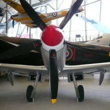 Spitfire at Imperial War Museum, Duxford