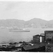 SS Conte Biencamano entering Harbour