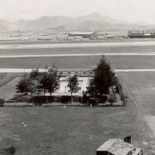 RAF Kai Tak swimming pool 1958